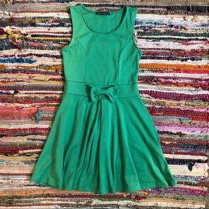 Kelly Green Skater Dress